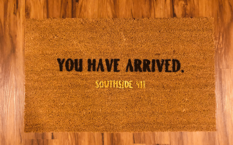 Make Your Own Personalized Doormat | Cricut DIY | Life Of